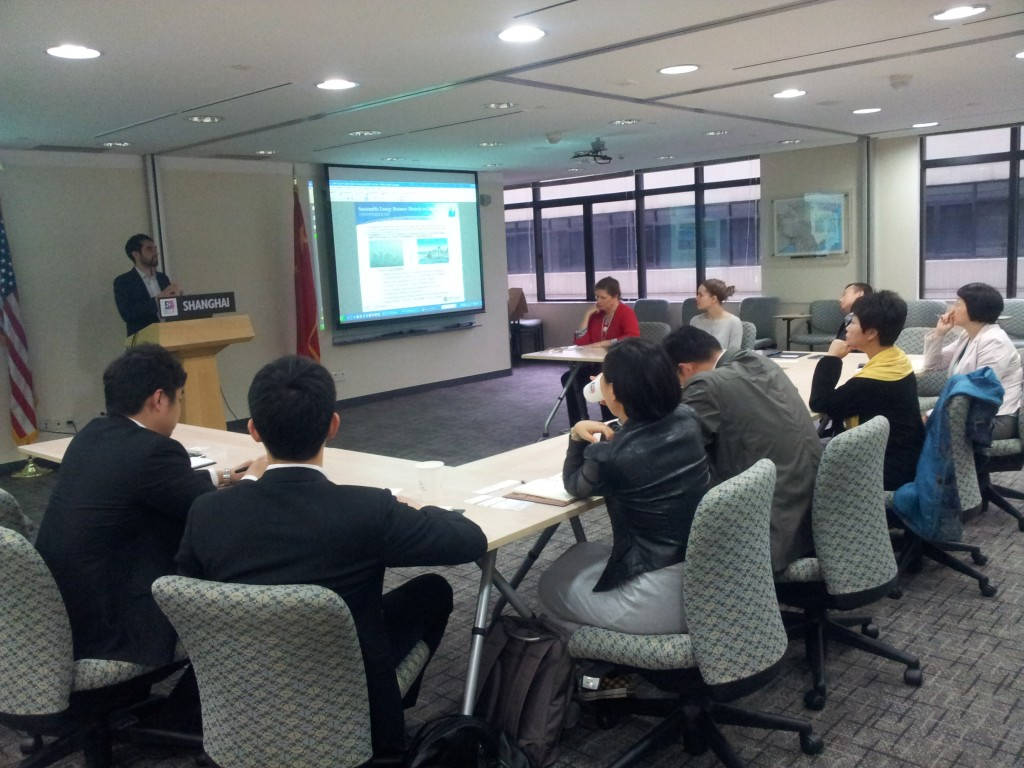 Optony Presents at U.S. Consulate in Shanghai